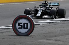 (Aug 02 2020) Mercedes driver Lewis Hamilton of Britain steers his car during the British Formula One Grand Prix at the Silverstone racetrack, Silverstone, England. (AP Photo/Frank Augstein, Pool)