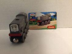 Dennis Diesel Train Car Thomas Friends Collector's Card Wooden Gullane 2003 #Gullane
