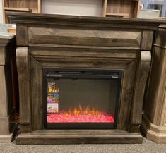 On sale for only $699 Dimplex Fireplace, Fireplace Mantels, Media Consoles, Home Decor, Decoration Home, Room Decor, Fireplace Mantel, Home Interior Design, Fireplace Shelves