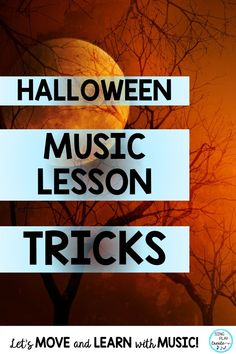 In the elementary music classroom, October can be the scariest month of the year. But don't worry! You'll find all you need to know in this blog post with 3 (three) Halloween music class tricks.#singplaycreate, #elementarymusichalloweenlessons #musicedhalloween   #halloweenmusicactivities, #musicedhalloweensongs, #musicedhalloween #halloweenmusiclessons, #halloweensongsandactivities, #halloweenmusic, #halloweenmusicandmovement