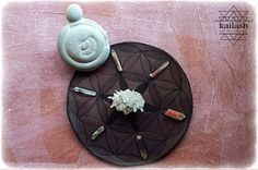 Seed of Life_Leather Crystal Grid