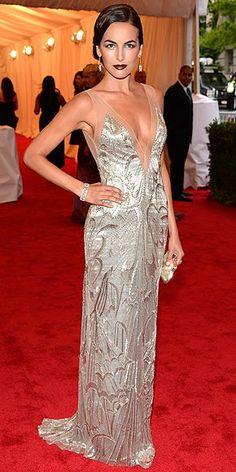 2012 Met Gala - Camilla Belle stunning in Ralph Lauren vintage collection