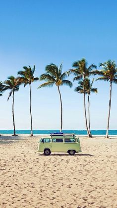 This is exactly what I want to do.... ride across the beach in a beautiful camper van.