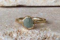 Estados Unidos 5, aguamarina anillo oro, anillo aguamarina crudo, áspero de la piedra preciosa Natural, áspero anillo aguamarina, piedra preciosa aguamarina Natural oro anillo