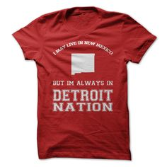 New Mexico For Detroit Nation #sport #tshirt