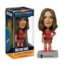 Doctor Who Clara Oswald Bobble Head FU4760 The Impossible Girl in her iconic red dress! Clara Oswin Oswald, from the BBCs Doctor Who television series, joins Funkos line of Wacky Wobbler bobble heads! The 11th and 12th Doctors companion, Clara http://www.MightGet.com/january-2017-11/doctor-who-clara-oswald-bobble-head-fu4760.asp