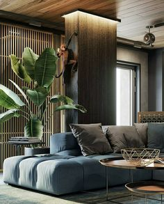 Best Home Decoration Magazine Apartment Interior, Interior Design Living Room, Living Room Designs, Living Room Decor, Bedroom Decor, Living Rooms, Luxe Decor, Plafond Design, Home And Deco