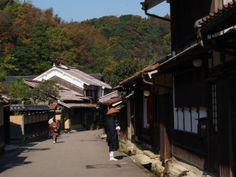 石見銀山の繁栄を偲ぶ大森のまちなみ /  Omori machi, the vestige of the prosperity of Iwami Ginzan