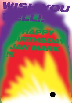 Happy Birthday Poster (from Kostya Bogach)