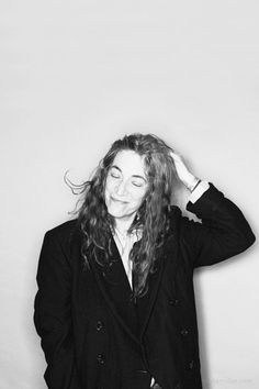 Patti Smith . I love her so much.