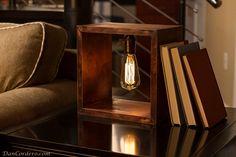 Shadow Box Edison Lamp by DanCordero on Etsy https://www.etsy.com/listing/167931812/shadow-box-edison-lamp