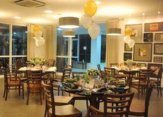 Espaço gourmet da Plaenge, decoração de festa, decoração de mesas, mesas decoradas, Blog Plapite de Luxo