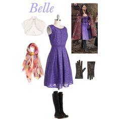 Belle(Ouat) Purple outfit