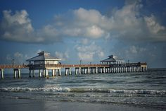 Fort Myers Beach Fishing Pier on Estero Island in Florida