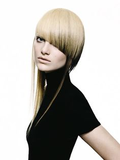 Short Haircuts And Hairstyles-A unusual girl snatch attention 2018 Edgy Haircuts, Hairstyles With Bangs, Cool Hairstyles, 3 4 Face, Liliana, Corte Y Color, Hair Creations, Fantasy Hair, Hair Shows
