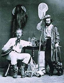 """I just love this photo. These guys had quite the sense of style, and it seems so odd to think of naturalists posing with their """"stuff"""" but I guess they did, back in the day. I'd love to see more like this.  Ernst Haeckel - Wikipedia, the free encyclopedia"""