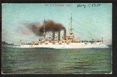 "U.S. BATTLESHIP ""OHIO"" - 1908"