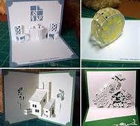 Free Kirigami Pop-Up Cards - Bing Images