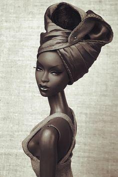 This paintong looks to real realtobeapainting African American Beauty, African American Dolls, Black Girl Art, Black Women Art, Diva Dolls, Art Dolls, Dolls Dolls, Fashion Royalty Dolls, Fashion Dolls