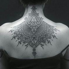 Ornamental back piece wow
