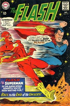 The Flash #175 (1959 series) - cover by Carmine Infantino