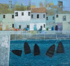 Archibald Dunbar McIntosh RGI RSW (b.1936) is an award winning Scottish artist who fondly depicts the Scottish isles, the coastline and childhood memories of trips aboard the River Clyde paddlesteamers.