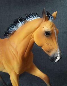ranch mare resin modelhorse by morgen kilbourne custom modellpferd repaint…