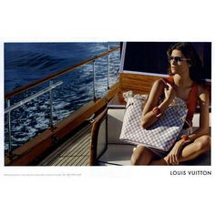 Louis Vuitton Ad Campaign Resort 2010 Shot #3 ❤ liked on Polyvore