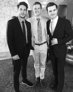 The Vampire Diaries - Michael Trevino. Zach Roerig and Michael Malarkey