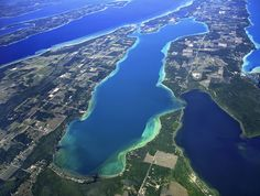 The 10 Most Beautiful Lakes in Michigan - Elk Lake