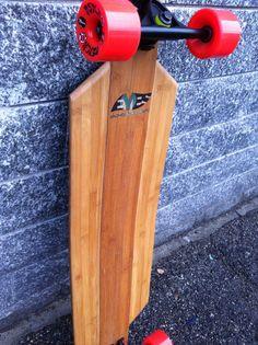 Handmade Bamboo Longboard  luca@eyesboard.net  www.eyesboard.net