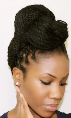 senegalese twist styles - Google Search