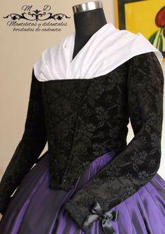 Corpiño Folk Costume, Costumes, Fashion Story, Fashion Outfits, 17th Century Fashion, Semi Formal Dresses, Old Dresses, Fantasy Dress, American