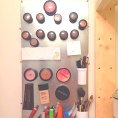 My magnet makeup board