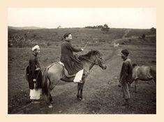 Les photos du Vietnam de 1925 à 1930 de M. Raymond CHAGNEAU: Un Viet à cheval