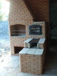 Resultado de imagem para fogao forno e churrasqueira