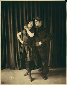 Alonso y Pepita / photograph by Aldene. NYPL Digital Gallery.
