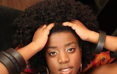 natural hair big curly fro flex rod set tutorial.