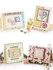 Card Making & Paper Crafts - Quilted Greeting Cards - what a great gift to receive - CARD AND PAPER CRAFTS