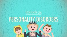Personality Disorders: Crash Course Psychology interesting video explanation of this. Crash Course Psychology, School Psychology, Psychology Jokes, Personality Disorder Symptoms, Borderline Personality Disorder, Abnormal Psychology, Psychology Disorders, Best Valentines Day Quotes, Ap Psych