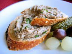 """Lentil-walnut pâté. Sounds very similar to The Regal Vegan's """"Faux Gras."""""""