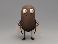 BariaCharacter by Baria CG, via Behance