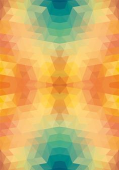 Low Poly Pattern · Studio sarahstehling · Posters · R$90,00