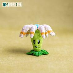 Bloomerang (Plants vs. Zombies) amigurumi crochet pattern by AradiyaToys