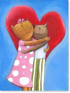 Awesome Bilder Kinderzimmer auf Leinwand gedruckt f r Jungen und M dchen Motiv Katzen Mauz