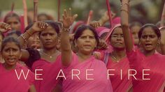 """""""We Are Fire"""": Pink is the color of the women's revolution in India. Do you know the Gulabi Gang?"""