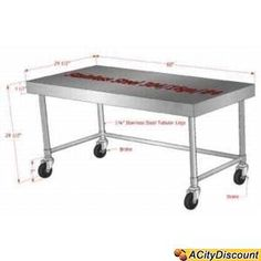 counter height stainless steel prep tables stainless