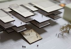 MAQUETTE University campus of the Valle d'Aosta Recovery and Transformation of the ex military barracks Testafochi Architecture Panel, Architecture Drawings, Architecture Portfolio, Concept Architecture, School Architecture, Architecture Details, Architecture Models, Commercial Architecture, 3d Modelle