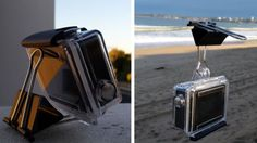 Turn a Binder Clip Into a GoPro Stand or Mount Great GoPro everyday mods Www.Goprocamerareview.Net