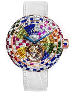 BRILLIANT FLYING TOURBILLON | Jacob & Co. | Timepieces | Fine Jewelry | Engagement Rings